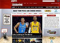 ESPN- وب سایت ورزشی پیشرو در جهان